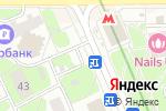 Схема проезда до компании Белорусский базар в Москве