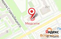 Схема проезда до компании Двери в Подольске в Подольске