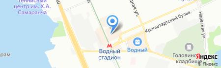 Юриспром на карте Москвы