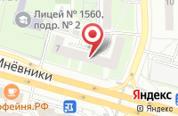 Схема проезда до компании Вюлам в Москве