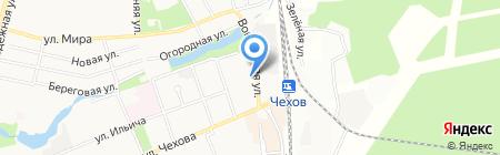 Почтовое отделение №142301 на карте Чехова
