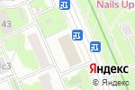 Схема проезда до компании ВАШТАМП в Москве