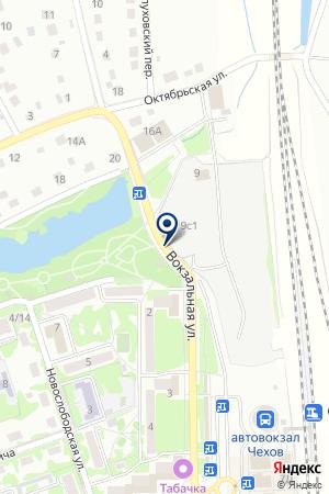 ТОВАРНАЯ КОНТОРА на карте Чехова