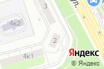 Схема проезда до компании SecretAuto в Москве