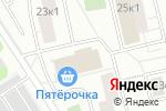 Схема проезда до компании Акватехно в Москве