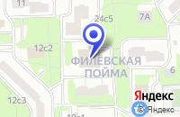 Схема проезда до компании МЕДИЦИНСКИЙ ЦЕНТР ФИЛИ в Москве