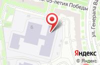 Схема проезда до компании Лига в Подольске
