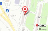 Схема проезда до компании Бартник в Москве