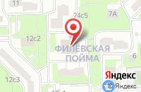 Схема проезда до компании Айкон в Москве