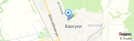 Культурно-досуговый центр на карте Барсуков