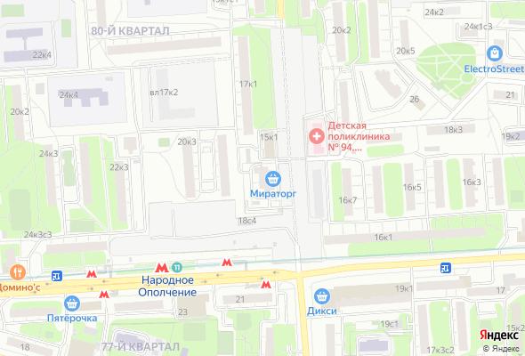 жилой комплекс Счастье в Мневниках