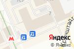 Схема проезда до компании Эксеко Пи Эм Рус в Москве