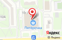 Схема проезда до компании Стройвек в Москве