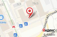 Схема проезда до компании Производственно-Коммерческая Фирма «Солис» в Москве