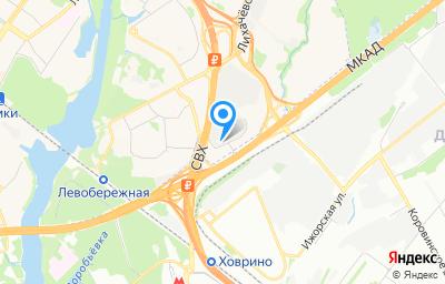 Местоположение на карте пункта техосмотра по адресу Московская обл, г Химки, ул Пожарского, влд 30А