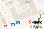 Схема проезда до компании Магазин текстиля в Москве