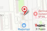 Схема проезда до компании Элекс в Москве