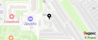ГСК Автолада на карте Москвы