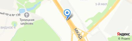 Баньковъ на карте Москвы