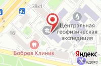 Схема проезда до компании Издательский Центр  в Москве