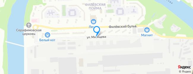 улица Мясищева
