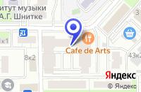 Схема проезда до компании ПТФ НОВОСТЬ в Москве