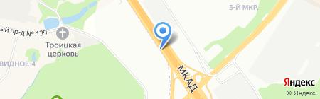 Ворота-24 на карте Москвы