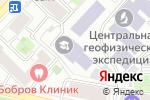 Схема проезда до компании МГУТУ в Москве