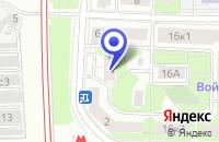 Схема проезда до компании ГЛАЗНАЯ КЛИНИКА ФЕДОРОВОЙ ИРИНЫ СВЯТОСЛАВОВНЫ в Москве