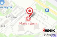 Схема проезда до компании Балтимор-Инвест в Москве