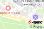 Схема проезда до компании Чемберлен в Москве
