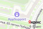 Схема проезда до компании Магазин цветов в Подольске