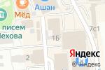 Схема проезда до компании Faberlic в Чехове