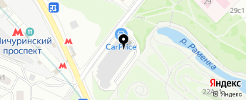 М-Сервис на карте Москвы