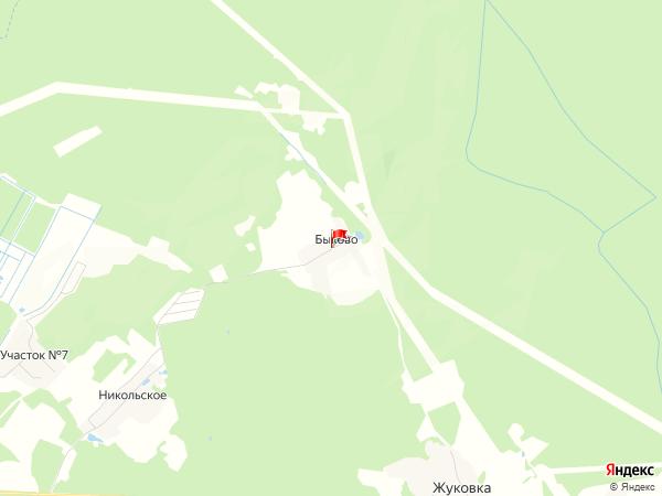 Карта поселение Быково