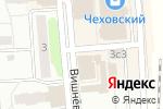 Схема проезда до компании ВсеИнструменты.ру в Чехове