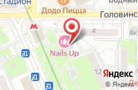Схема проезда до компании Всемтех в Москве