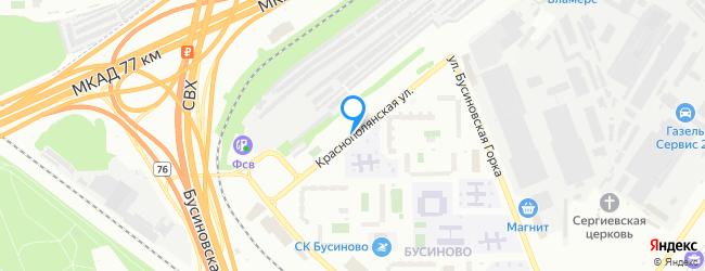 Краснополянская улица