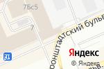 Схема проезда до компании B-Moda в Москве