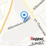 Автостоянка на карте Щёкино