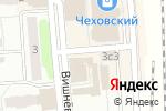 Схема проезда до компании Магазин мясной продукции в Чехове