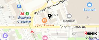 Аксис-Авто на карте Москвы