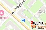 Схема проезда до компании Здоровая вода в Москве