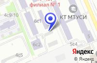 Схема проезда до компании АРХИТЕКТУРНО-ПРОЕКТНАЯ ФИРМА ЗОДЧИЙ-1 в Москве