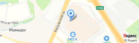 Ваш размер на карте Москвы