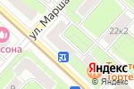 Схема проезда до компании БеларусЪ в Москве
