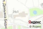 Схема проезда до компании Инфраструктура ТК в Москве