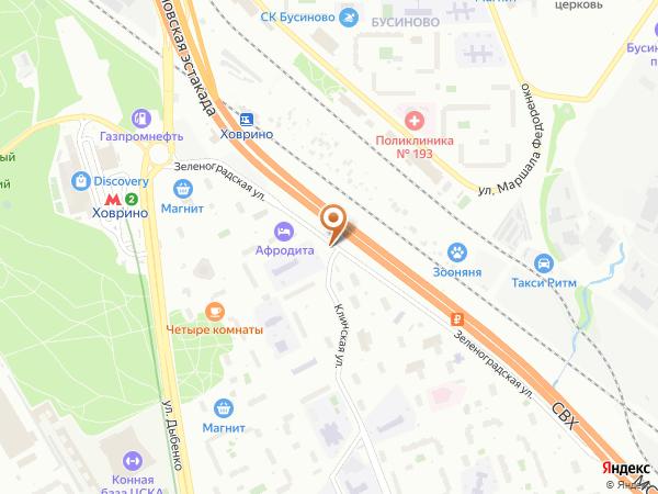 Остановка Зеленоградская ул., 39 в Москве