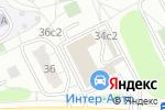 Схема проезда до компании Рыжий лис в Москве