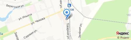 Лора на карте Чехова